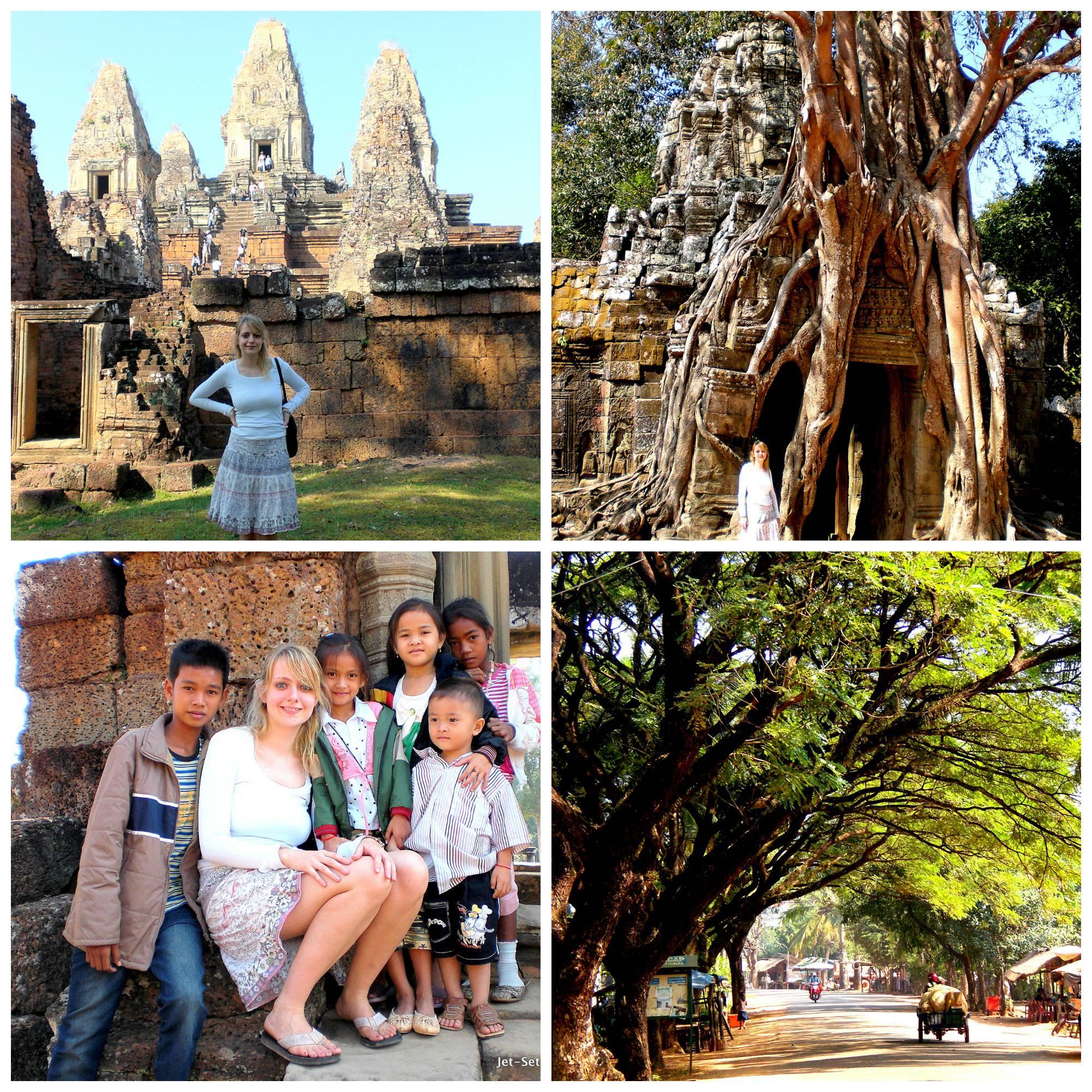 Exploring Angkor Wat in Cambodia