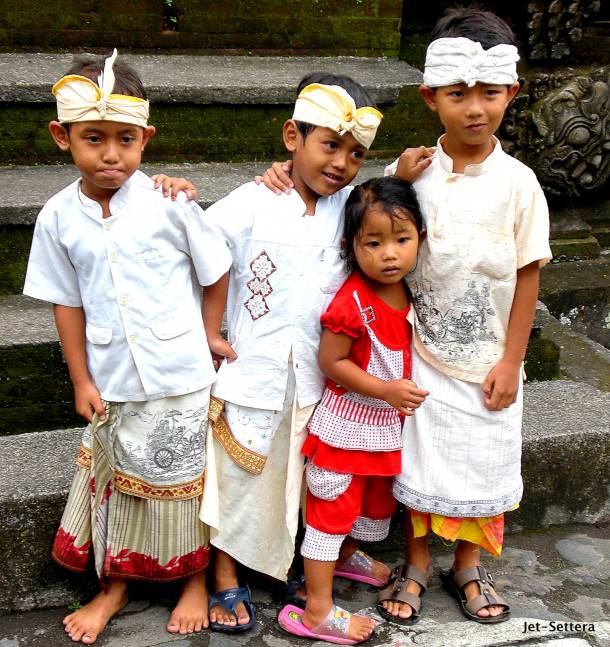 Local Kids of Bali