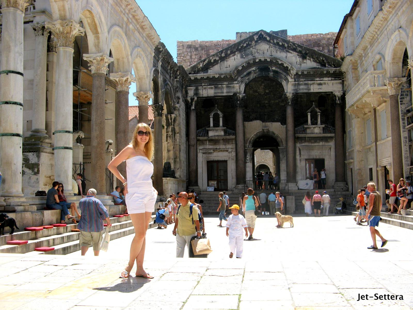 Ancient Palace of Diocletian in Split