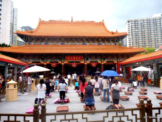 Buddhist Temple in Hong Kong