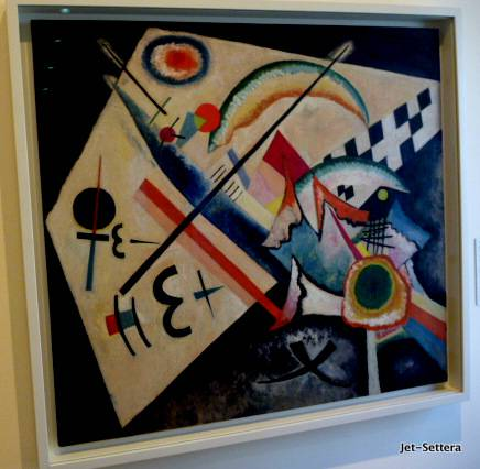 Kandinsky - White Crosses, Peggy Guggenheim Collection - Venice Artwork