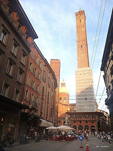 Highest Tower of Bologna Italy