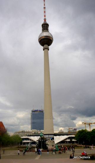 TV Tower - Places to Visit in Berlin at Night