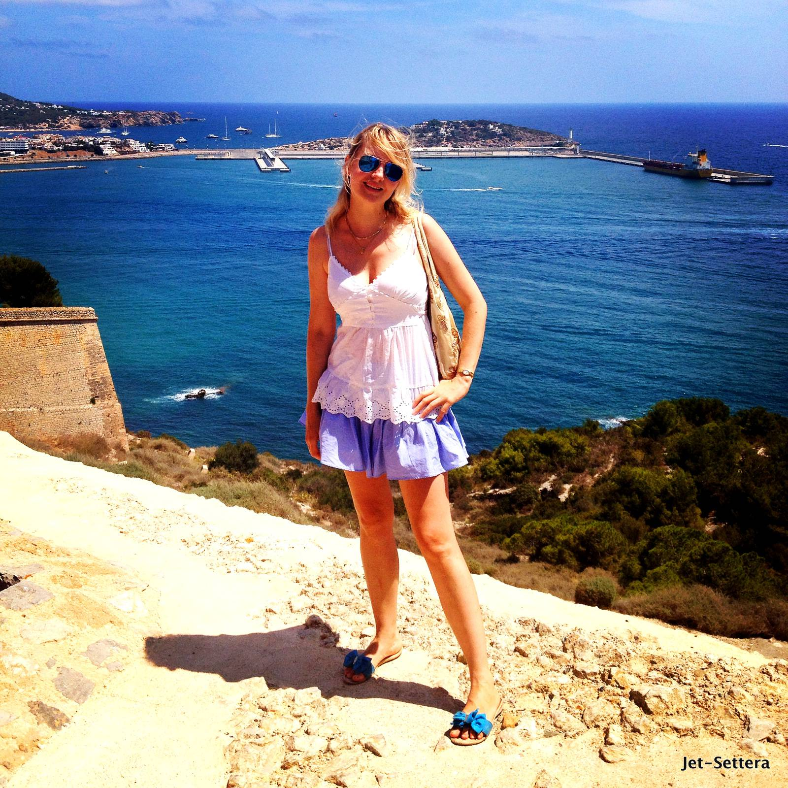View from the Top - Ibiza Spain