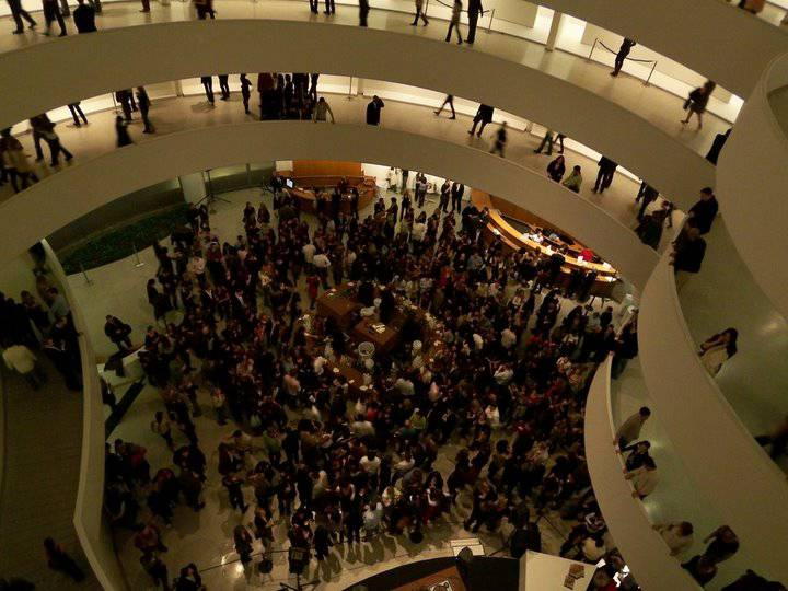 Guggenheim Museum New York Party People