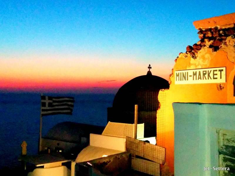 Sunset from Oia - Santorini Greece