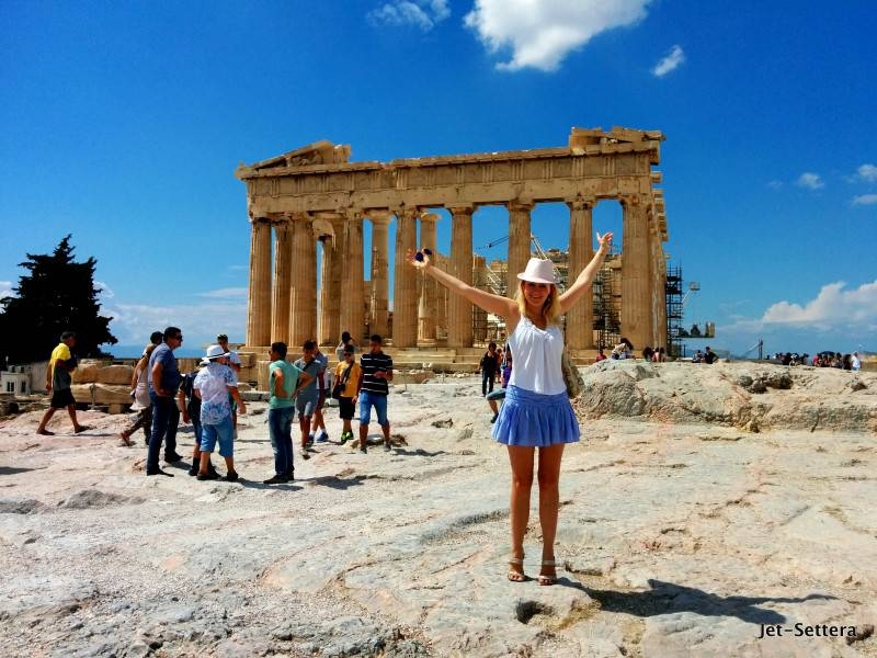 Acropolis in Athens