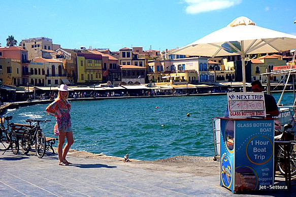 The Port in Chania, Crete