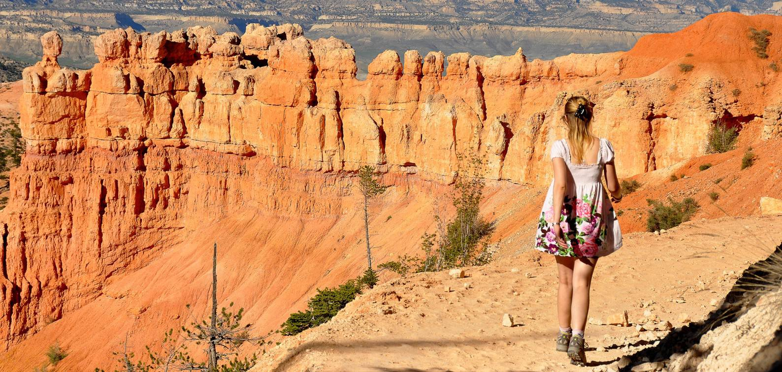 Hiking the Bryce Canyon - National Parks in Utah