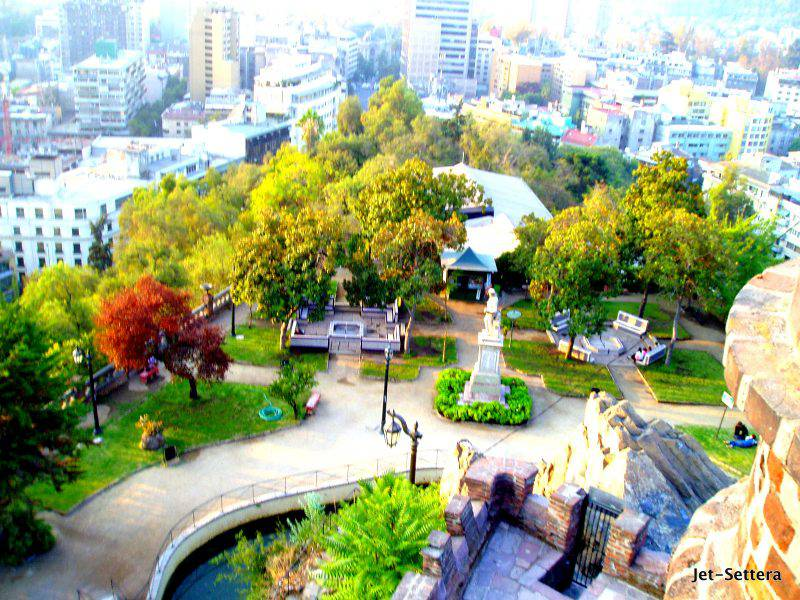 View of Santiago de Chile