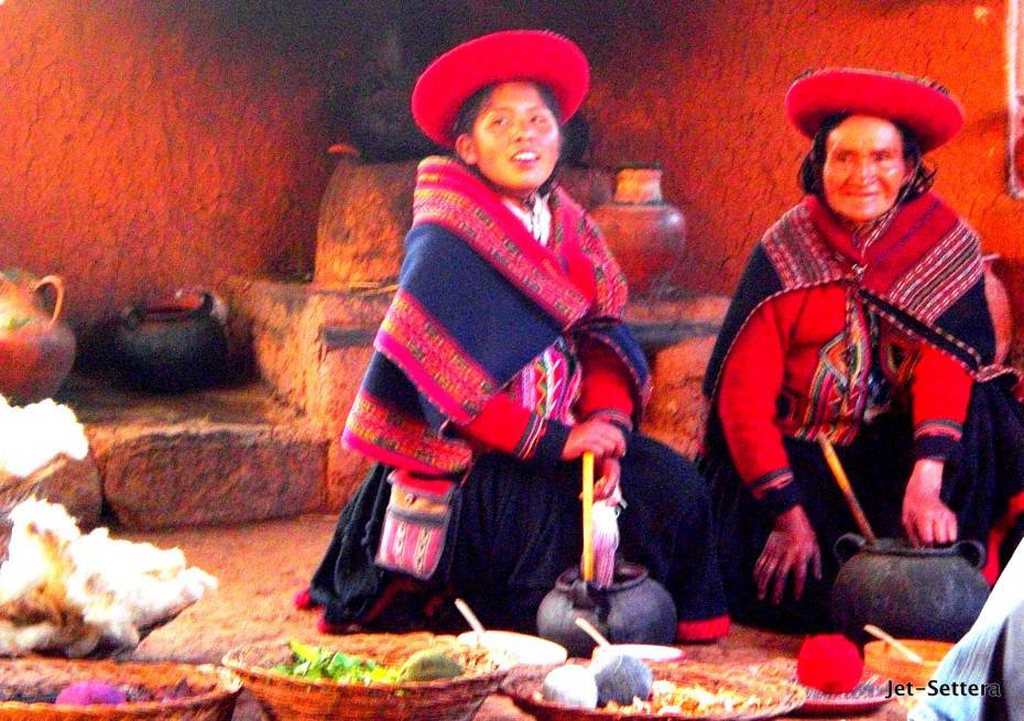 Local Women in Cuzco, Peru