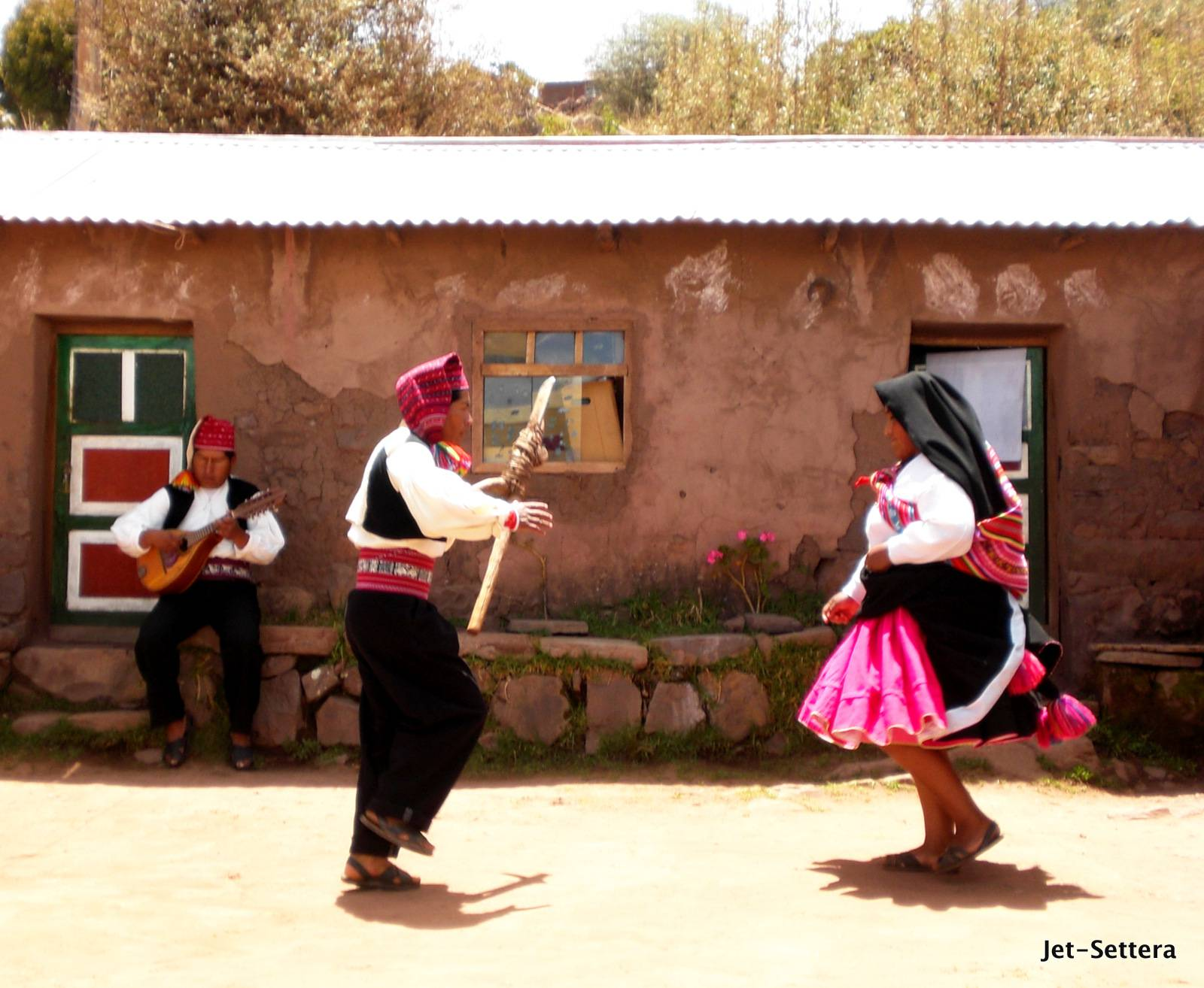 Local Dance of Puno, Peru