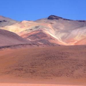 Pink Mountains, Uyuni, Bolivia