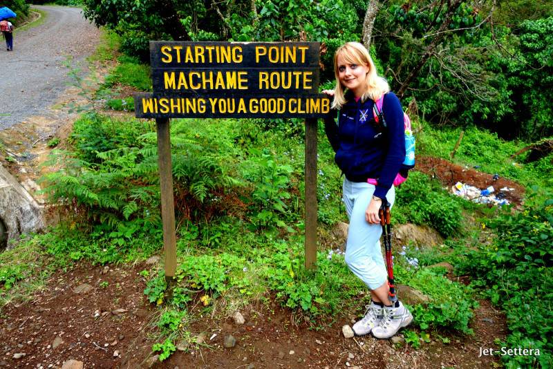 Starting the Machame Route - How to Climb Mount Kilimanjaro