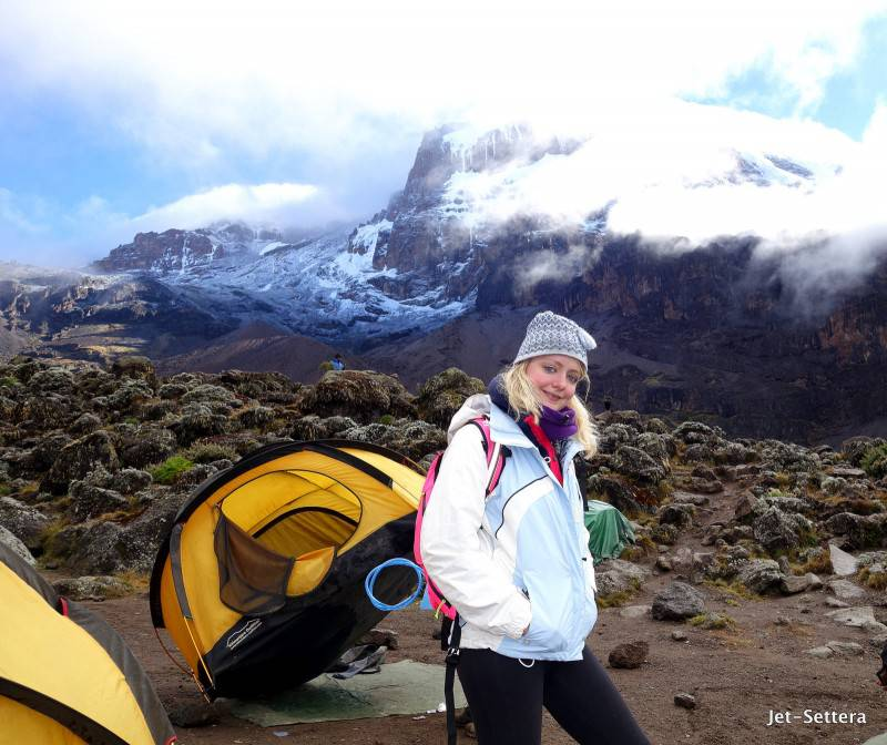 It was Getting Cold on the Top - Mt Kilimanjaro Location