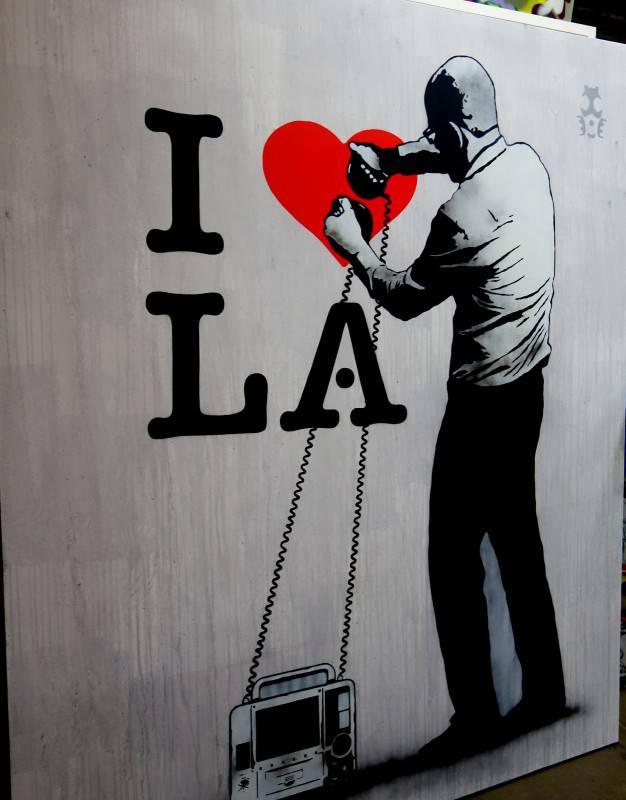 Pop Art on La Brie Avenue