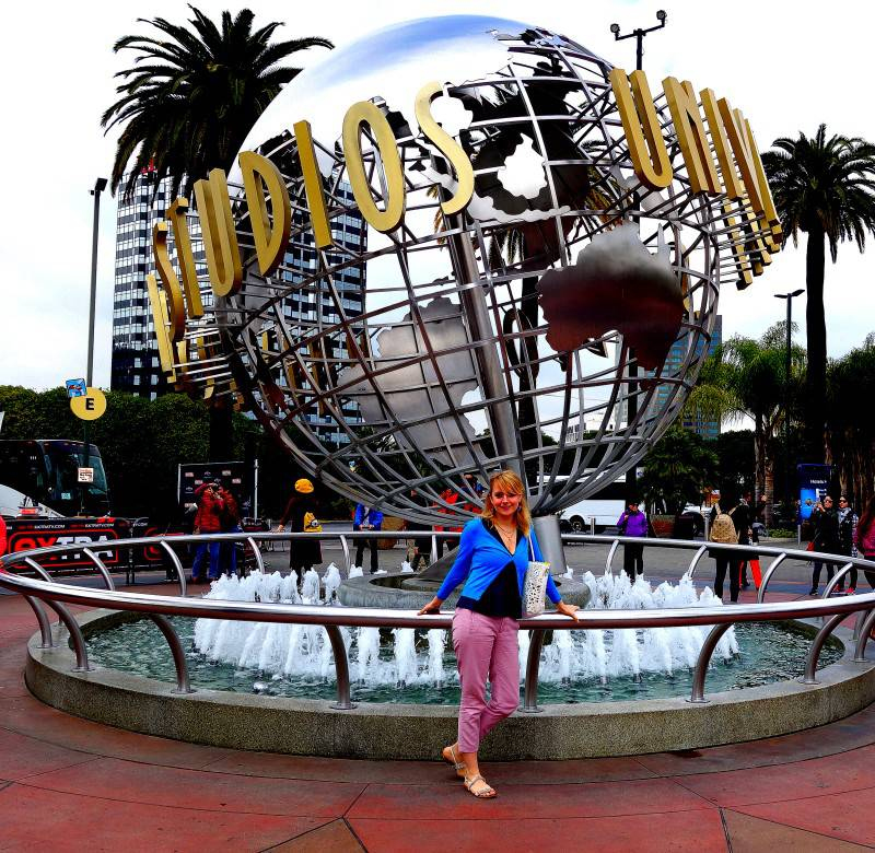 Entrance of Universal Studios