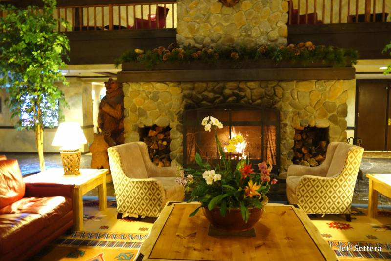 Fireplace in the Lobby - Best Places to Stay in Yosemite