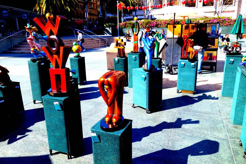 Art in Union Square - San Francisco Points of Interest