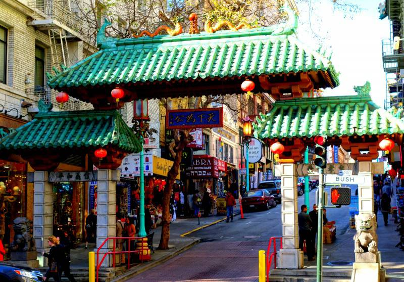 Chinatown Gate - San Francisco