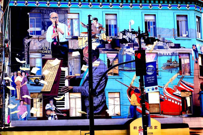 North Beach Murals