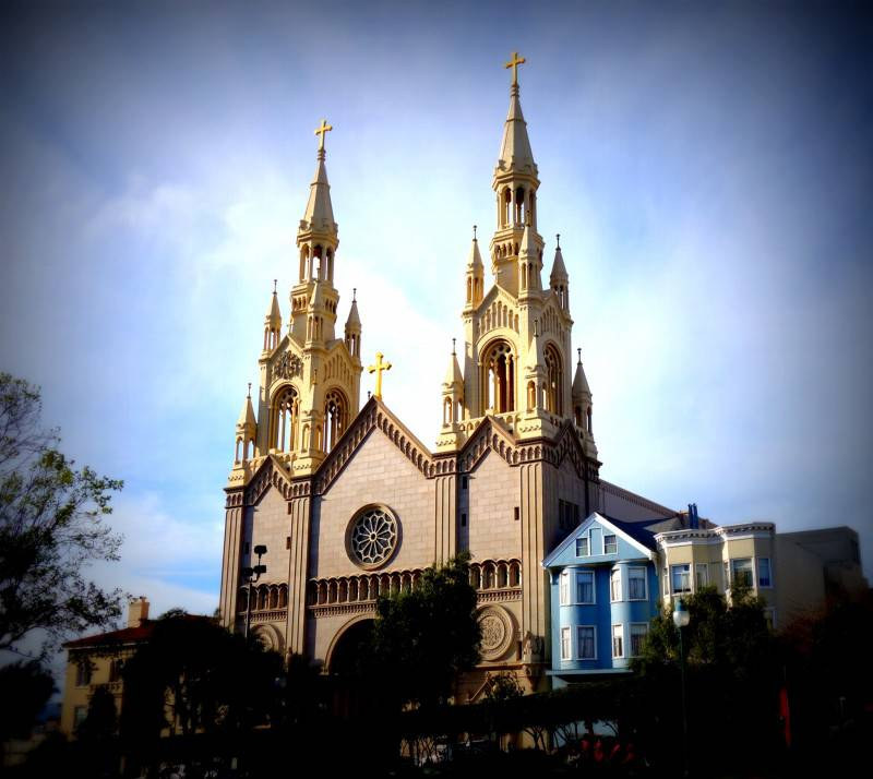 Saint Peter and Paul Curch in San Francisco