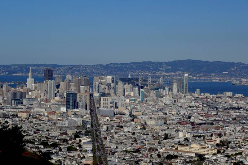 View from Twin Peaks