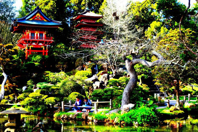 Japanese Tea Garden - Best Tourist Spots in San Francisco
