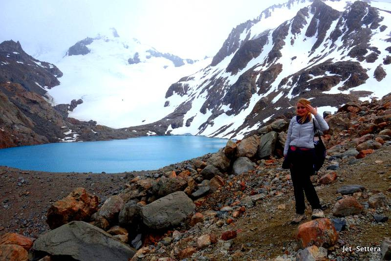 Closer to God in Hiking Boots in el Chalten, Argentina