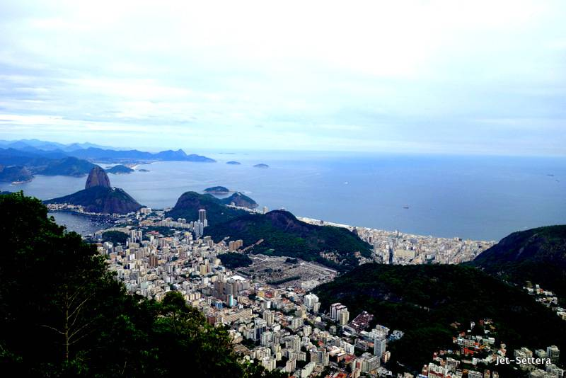 View from Cristo Redentor in Rio - Places to Visit in Rio de Janeiro