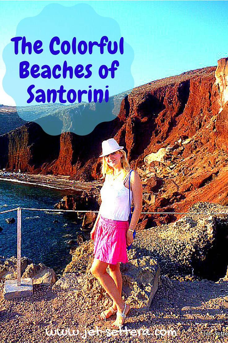 The Colorful Beaches of Santorini, Greece | Santorini Greece | Greek Islands | Jet-settera Travel Blog | Greece Travel Tips