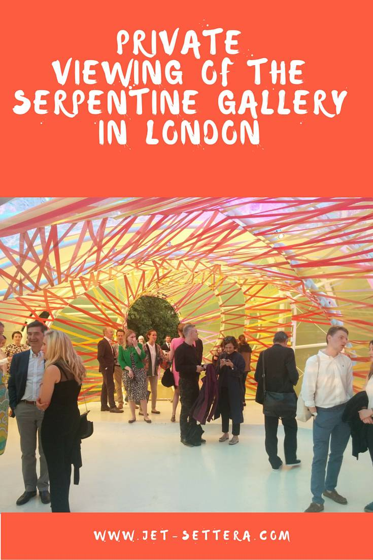 Private Viewing of The Serpentine Gallery in Hyde Park, London | Serpentine Gallery | Galleries in London | Jet-Settera Travel Blog | London Travel Tips
