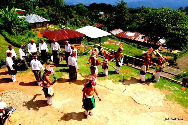 Caci Dance in Melo Village in Labuan Bajo - Things to do in Labuan Bajo