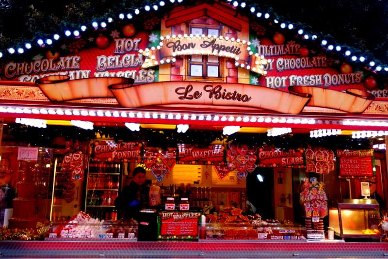 Christmas Market in Edinburgh - The Best Way To Travel From London To Edinburgh