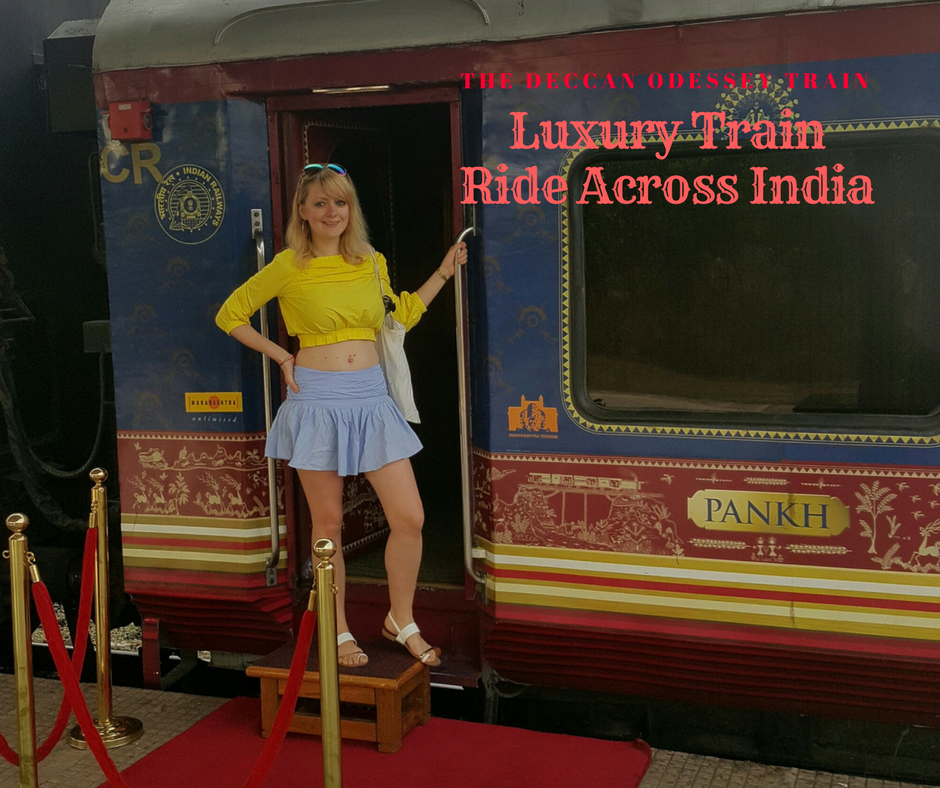 The Deccan Odyssey Route - Luxury Train Across India