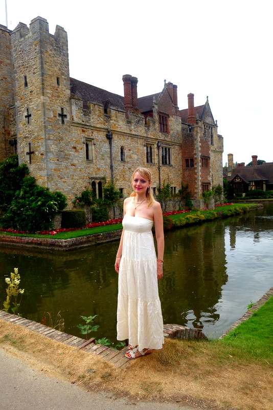 The Hever Castle in Kent
